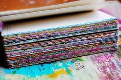 washi tape on the edges of journal pages(Diy Art Journal) Bullet Journal Décoration, Art Journal Pages, Art Journals, Journal Ideas, Bullet Journal Washi Tape, Washi Tape Crafts, Paper Crafts, Washi Tapes, Bullet Journal Pinterest