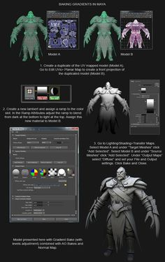 Gradient Map In Maya  Dota 2 - Lycan - Page 2 - Polycount Forum