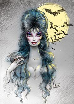 Resultado de imagem para elvira queen of darkness