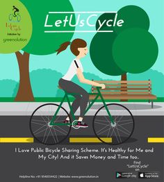 Public Bicycle Scheme goes about as a vehicle mode itself if used to make long partition trips however then again it additionally goes about as an entrance for people in general transport.  #PublicBicycleScheme #BicycleScheme #Bicycle #Cycle