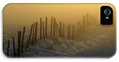A Fence in the Fog iPhone 5 Case / iPhone 5 Cover for Sale by Daniel Woodrum
