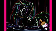 DJ Pon3 / Vinyl Scratch Fan Art Spotlight Pony Palace