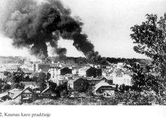 Kaunas/ the beginning of WWII //