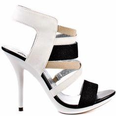 Heels I Love #heels #summer #high_heels #color #love Michael Antonio   Texana - White Glitter