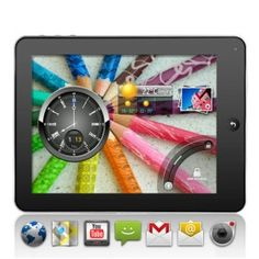 # List Price:  US$180.87  Price:        * US$        € £ CA$ AU$ HK$ CHF ¥    94.99  # Start from: 1 Unit(s)  The super slim and stylish 8 Inch Android 2.2 touch screen tablet computer has to be one of the best value gadgets available. This great value 8 inch tablet PC gives you the power to browse the web, watch movies, read e-books, play games, listen to music, check Facebook, watch your favorite YouTube videos, send/receive emails and so much more.