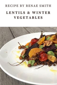 This tasty veggie packed recipe will win over and fill up even the fussiest veggies eaters! Winter Vegetables, Roasted Vegetables, Veggies, Fresh Herbs, Lentils, Spice Things Up, Fill, Tasty, Beef