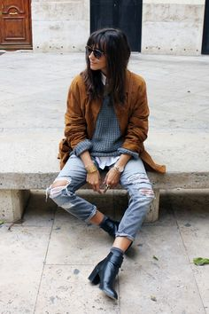 5 Essential Pieces for Effortless Cool-Girl Style (Crossroads Trading Co. Easy Style, Cool Girl Style, Grunge Fashion, Girl Fashion, Fashion Outfits, Layering Outfits, Casual Outfits, Dress Up Boxes, Fade Styles