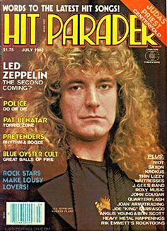 Hit Parader, July 1982