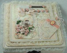 Romantic Pink Altered Box  www.tarascraftstudio.com