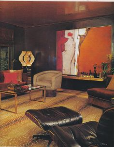 Modern 70's by Mod Dog, - #interior #design #art #installation #artwall #gallery #artcollection #collection  #furniture #museumviews #painting  #sculpture #decor #decoration