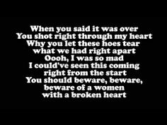 ▶ Big Sean - Beware (LYRICS) ft. Lil Wayne Jhene Aiko - Beware of a Bitch with a Broken Heart