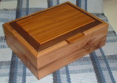 Unique handcrafted wood jewelry boxes