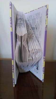 Folded Book Art  'I love you Granny' Book by TheFoldedBookCompany, £12.50