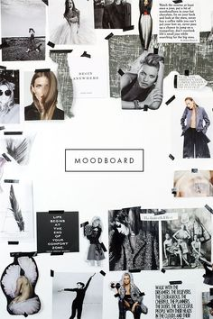 38 Ideas for fashion collage illustration mood boards ux ui designer Mode Collage, Collage Art, Collages, Collage Making, Collage Design, Graphisches Design, Layout Design, Book Design, Interior Design