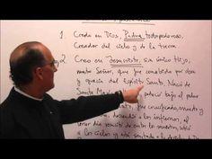 Credo Apostolico: El Padre (Creación), el Hijo (Redención) y el Espíritu Santo (Santificación). - YouTube
