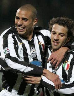 Trezeguet and Del Piero - #Juventus legends
