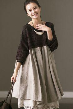 Plus Size Linen Dresses For Women