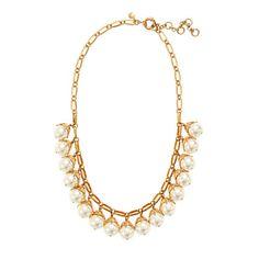 J.Crew - Pearl drop necklace