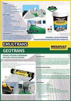 Product Poster (A0 Size) - MEGAFLEX Emultrans & Geotrans (Sealco Hong Kong)