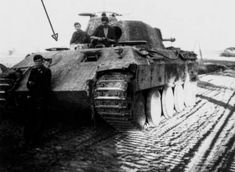 """""""GD"""" 1944 Mg 34, Panthers, Gd, Military Vehicles, Wwii, Tanks, German, Steel"""