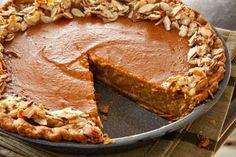 Almond Pumpkin Pie
