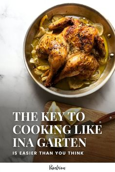 Ina Garten is known for whipping up fabulous chicken recipes. When I set out to find her best, I figured out her biggest secret to success (at least when it comes to cooking chicken) instead. #InaGarten #food #recipes Ina Garten Chicken, Best Ina Garten Recipes, How To Store Potatoes, Buttermilk Recipes, Recipe Please, Lemon Chicken, Cakes And More, How To Cook Chicken, Chicken Recipes