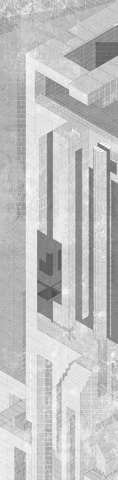 """[Image: From """"The New London Law Court"""" by Matthew Turner, Bartlett School of Architecture, Unit 12]. I was in London earlier this month, primarily for another year of external exams at the Bartlet…"""