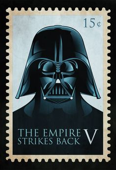 The Empire Strikes Back stamp