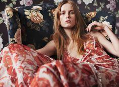 Vogue China April 2015   Rianne van Rompaey by Daniel Jackson