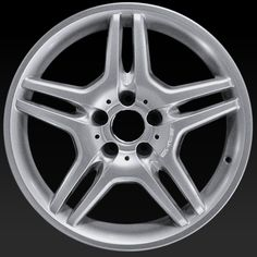 "Mercedes E55 wheels for sale 2003-2006. 18"" AMG Hypersilver rims 65317 - http://www.rtwwheels.com/store/shop/mercedes-e55-wheels-for-sale-amg-hypersilver-65317/"