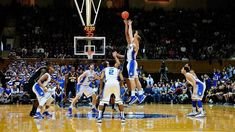 I want to go to a college or nba game.