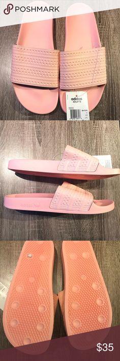 8046e4c8a98033 Shop Men s adidas Pink size 11 Sandals   Flip-Flops at a discounted price  at Poshmark. Description  New Men s Pink Adidas Adilette Slides.