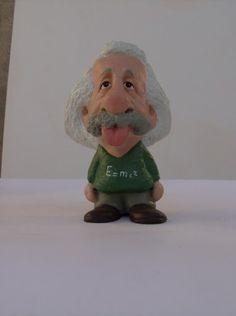 ALBERT EINSTEIN      by   CONSTANTINOS  CC terracotta and acrilic paint  http://constantinos.com.sapo.pt/
