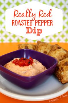 Try my Really Red Roasted Pepper Dip - goes perfectly with Lean Cuisine Three Cheese & Spinach Stuffed Pretzels #WowThatsGood #shop http://freebies4mom.com/balanced/