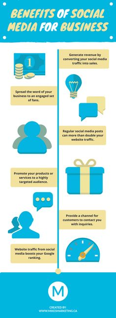 Find out the key benefits that social media provides for business.