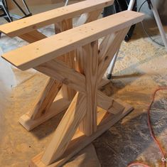 Ready for sanding, then staining and finishing.  The trestle table is coming together.  Stay tuned. Want a customized piece of furniture, visit www.oceanwestdesigns.com.  #trestletable #harvesttable #rustic #diningtable