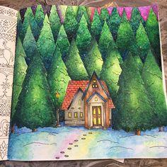 "Gefällt 5 Mal, 1 Kommentare - Kelin (@ucsfkelin) auf Instagram: ""Done#romanticcountry3 #romanticcountry #eriy#eriyイギリスの旅 #primawatercolor #watercolor…"""