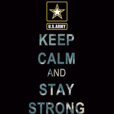 Army strong! <3 **