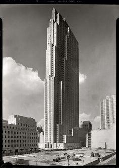 Nueva York, 1930, por Samuel H. Gottscho