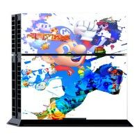 Mario Skin For Playstation 4 PS4 Console Controller