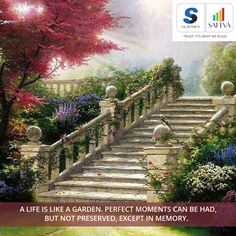 #thoughtfortheday #SalarpuriaSattva #SattvaGroup  Life is like a garden. Perfect moments can be had, but not preserved, except in memory.   Cherish every moment of life living in Salarpuria Sattva Homes.