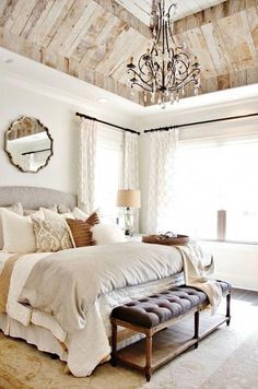 French Provincial Bedroom Decor Ideas New house! Home bedroom modern french bedroom decor - Modern Decoration French Country Interiors, French Country Bedrooms, French Country Decorating, Country French, French Style, Style Français, European Style, Rustic French, Modern French Country