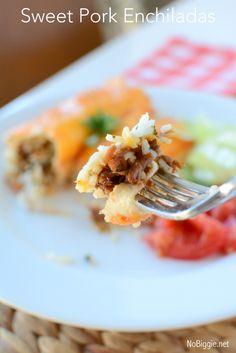 Sweet Pork Enchilada