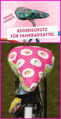 Fahrradsattel Schutzbezug nähen – Gratis Schutzhülle Anleitung Do you want to beautify your bike and make it more original? With a self-sewn cover, you can … Easy Knitting, Knitting Patterns Free, Sewing Patterns, Saddle Cover, Floral Banners, Thanks Card, Bicycle Accessories, Printable Stickers, Love Sewing