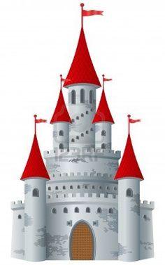 free clip art castles | Medieval Castle Clip Art for Family Coat ...