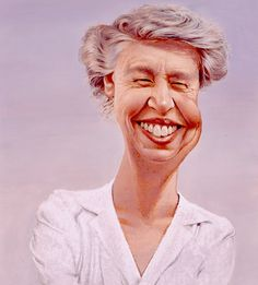 """C.F. Payne  """"A woman is like a tea bag - you can't tell how strong she is until you put her in hot water.""""  -Eleanor Roosevelt"""
