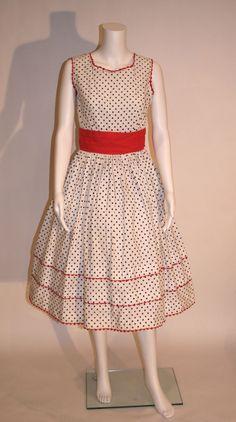 1950s Vintage Polka Dot Dress – Vintage Swag Chics