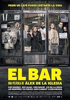 Alejandro Awada, Joaquín Climent, Secun de la Rosa, Terele Pávez, Blanca Suárez, Carmen Machi, Jaime Ordóñez, and Mario Casas in El bar (2017)