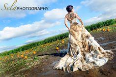 Pumpkin Paddock Trash the Dress!