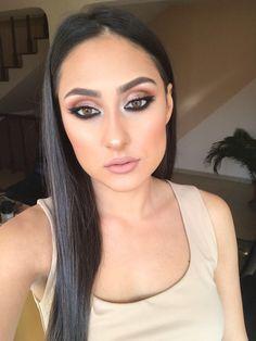 #glammakeup #cateyemakeup #bronzingpowder #nudelips #makeupinspiration